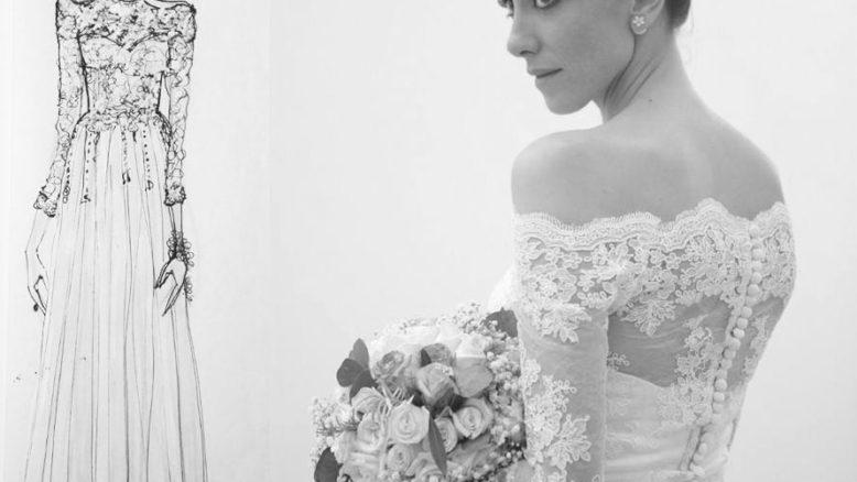 stilista abiti da sposa pistoia maniche con pizzo