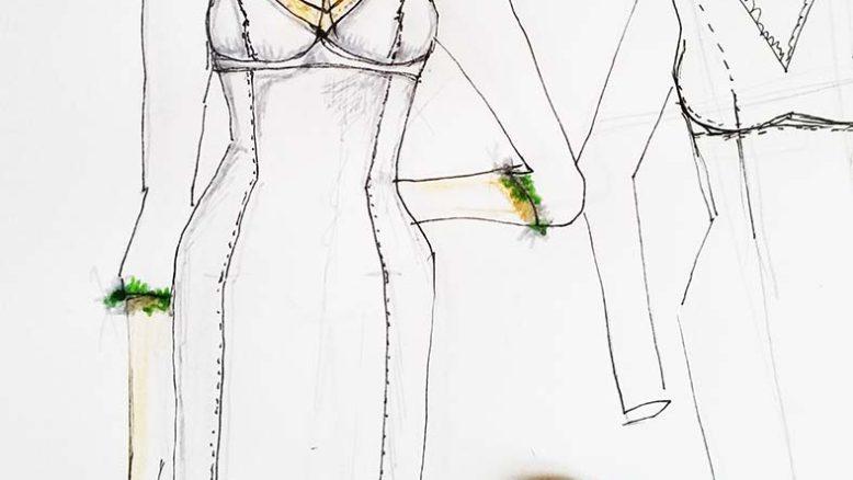 abito sposa seno grande scollatura a v