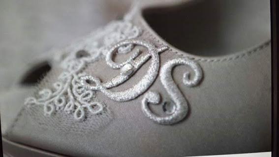 come scegliere scarpe sposa personalizzare iniziali
