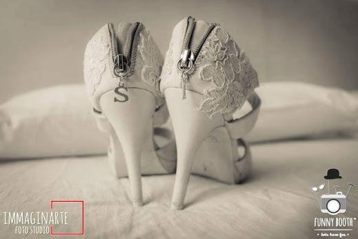 personalizzare scarpe sposa iniziali