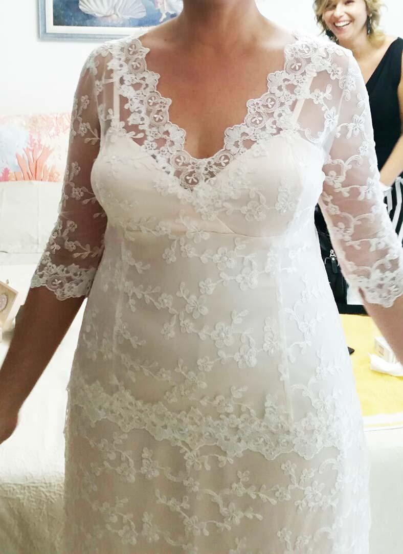 abiti da sposa morbidi su misura