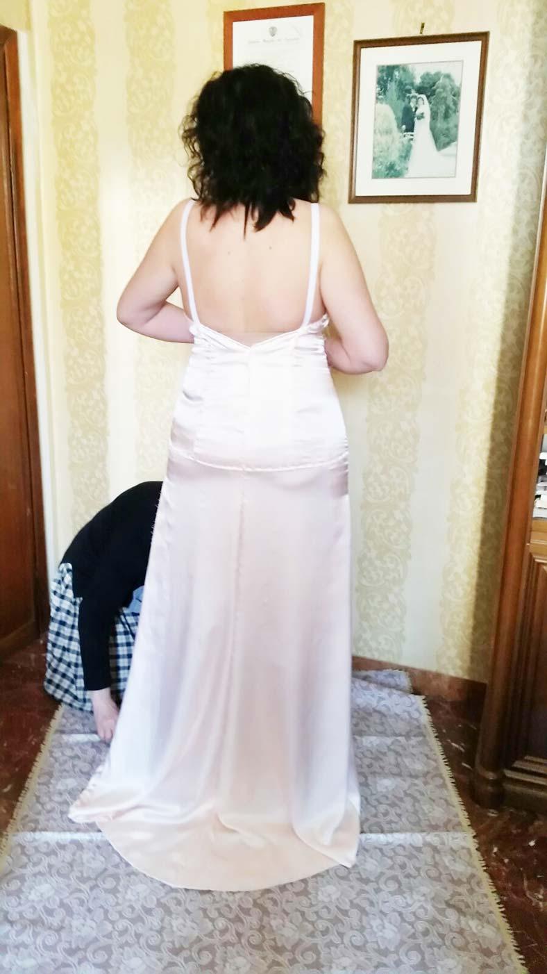abito da sposa morbido personalizzato