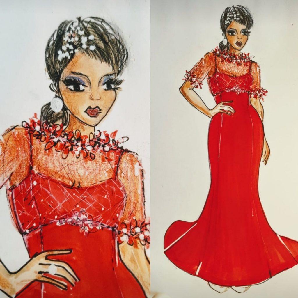 abiti da sposa 40 anni rosso