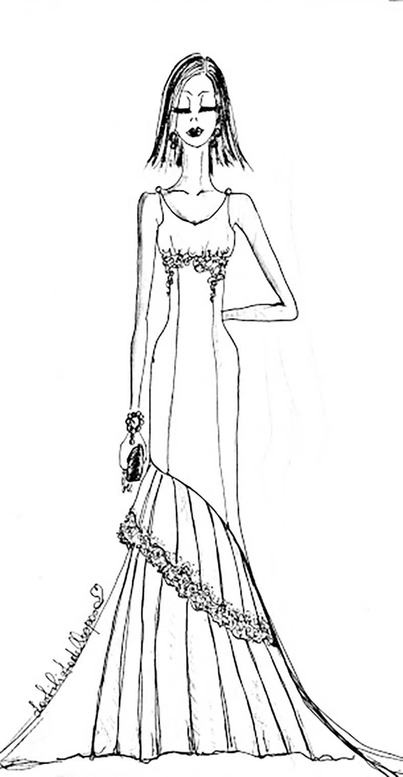 abiti da sposa che valorizzano seno piccolo