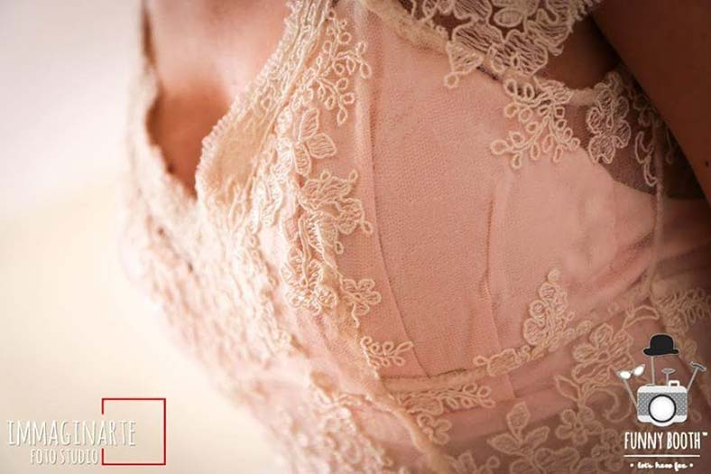 abito sposa imbottitura reggiseno