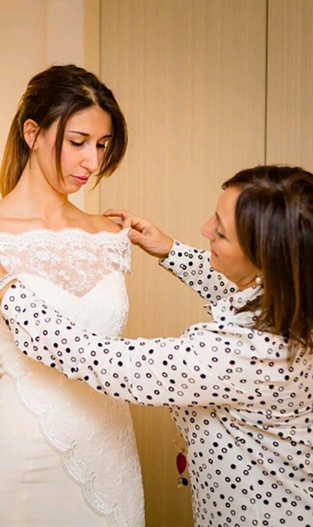 abito sposa seno scollo omerale