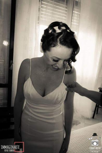 abiti da sposa dual dress tubino