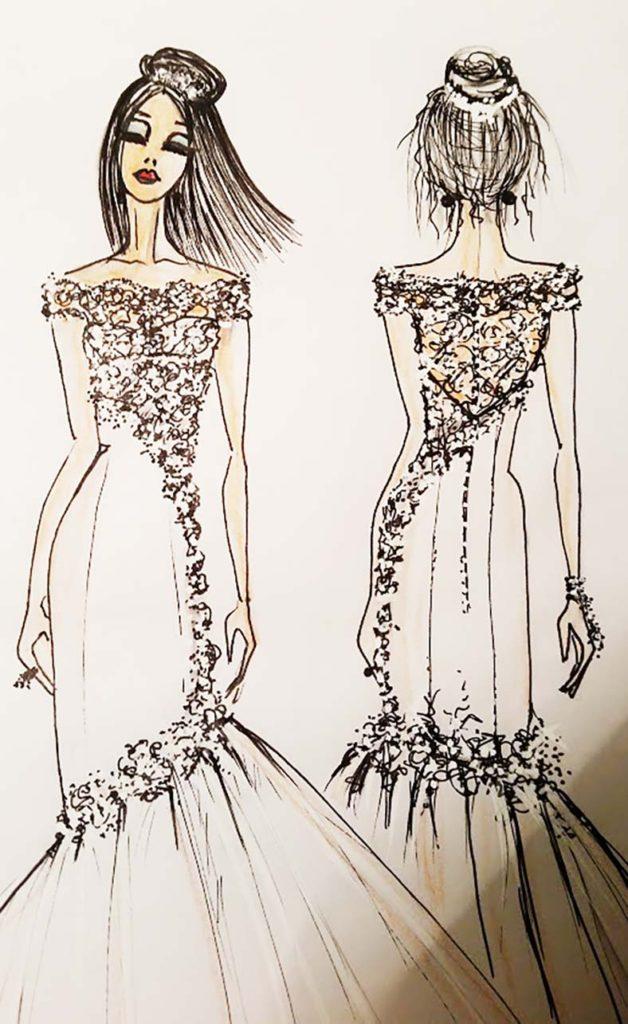 abiti da sposa semplici e raffinati