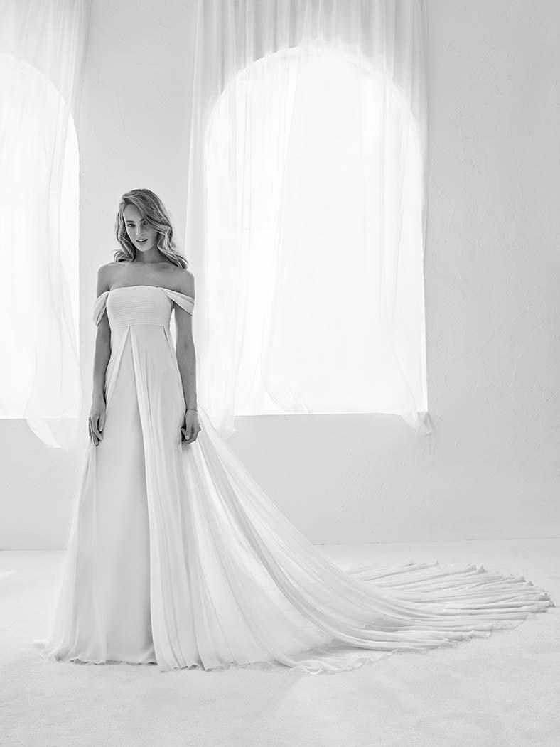 abiti sposa nascondere pancia stile impero