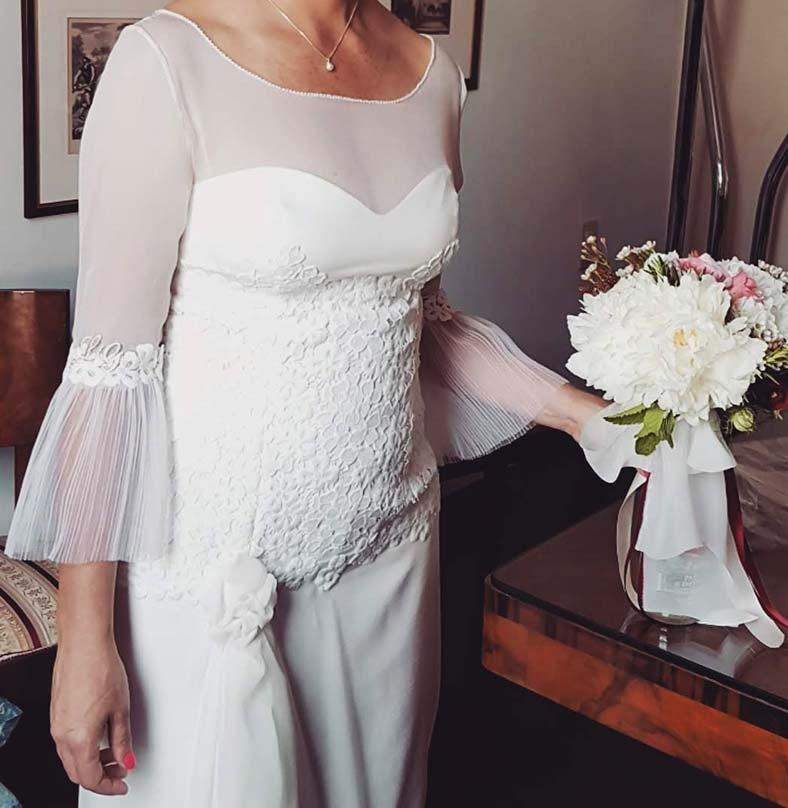 abito sposa braccia grosse