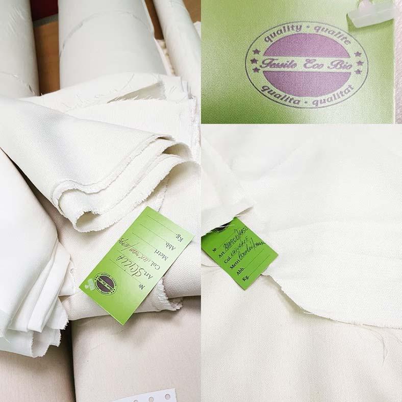 abiti da sposa tessuti naturali