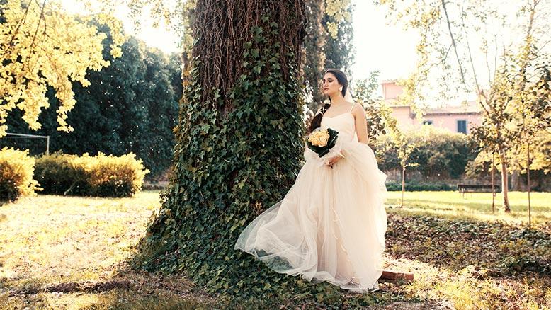 126f968161cd Abito da sposa per fisico a pera  consigli per scegliere l abito perfetto  per te