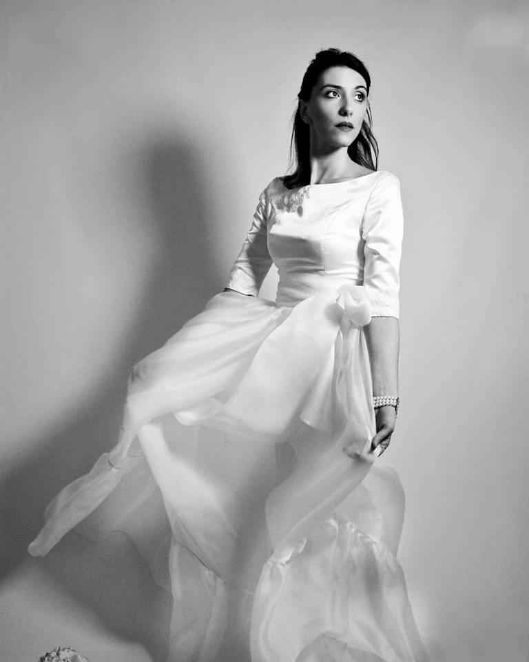 abiti da sposa con maniche lunghe
