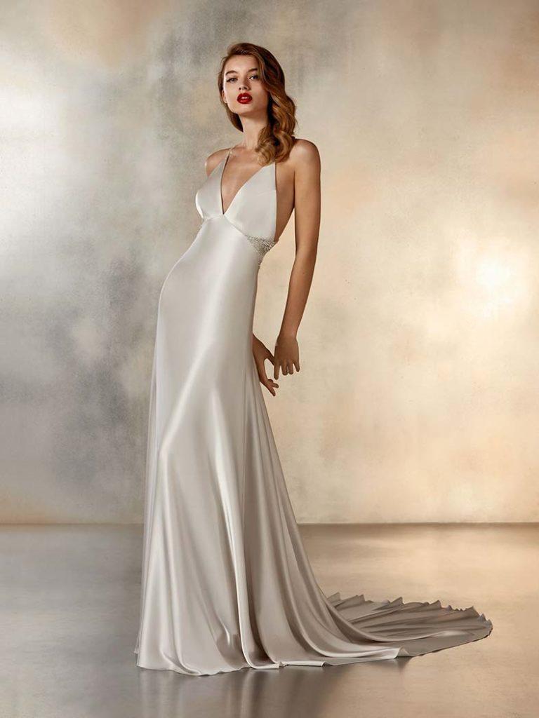 abiti sposa in raso
