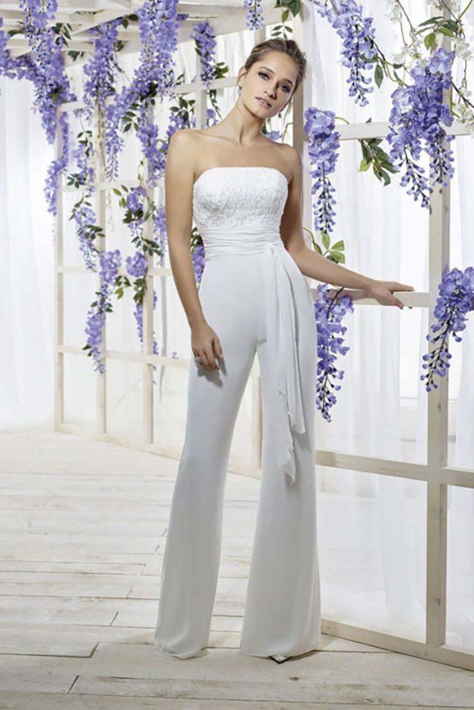 vestiti sposa pantaloni