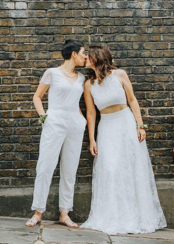abiti spose lesbiche